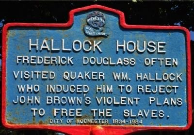Hallock House Marker image. Click for full size.