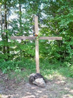 Dustin Huffman Memorial Cross image. Click for full size.