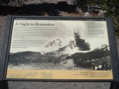 Devastated Area Marker - A Night to Remember Photo, Click for full size