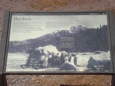 Hot Rock Marker Photo, Click for full size