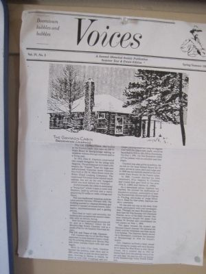 An article about the Gaymon/Daniel Cabin image. Click for full size.