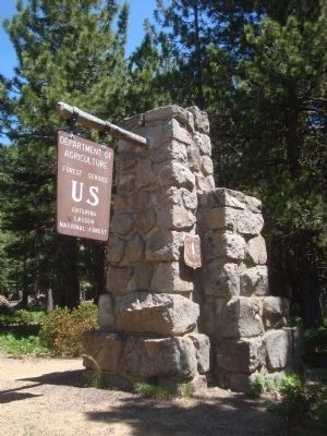 Lassen Volcanic National Park Gateway Photo, Click for full size