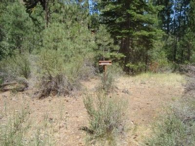 Nobles Trail – Hat Creek Station Marker Photo, Click for full size