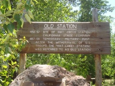 Old Station Marker image. Click for full size.