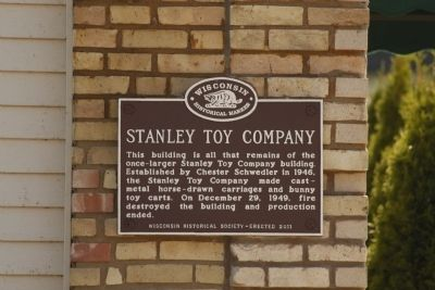 Stanley Toy Company Marker image. Click for full size.