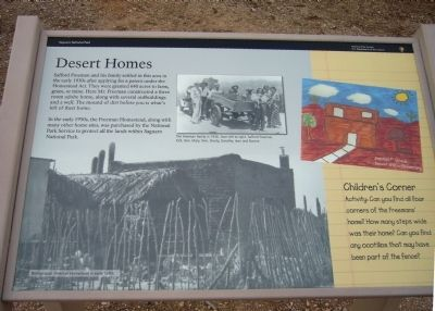 Desert Homes Marker Photo, Click for full size
