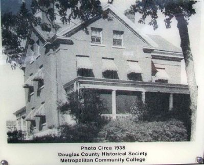 Photo of President's House on Marker image. Click for full size.