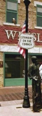 "Standin' on the Corner and ""Eagles"" Tribute image. Click for full size."