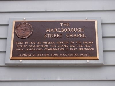 The Marlborough Street Chapel Marker image. Click for full size.