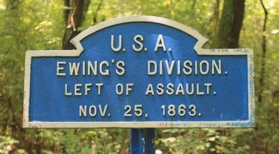 Ewing's Division Marker image. Click for full size.