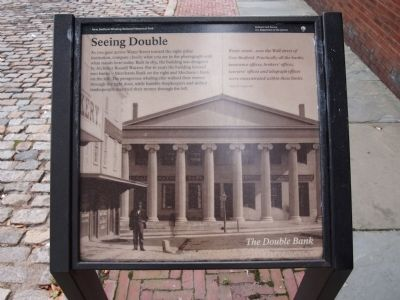 Double Bank Marker Photo, Click for full size