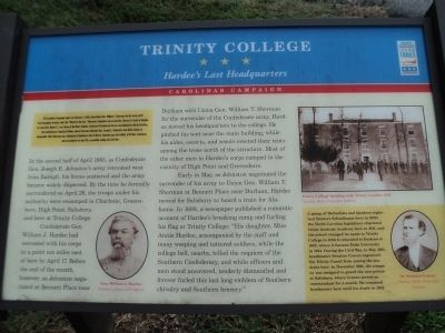 Trinity College Marker Photo, Click for full size