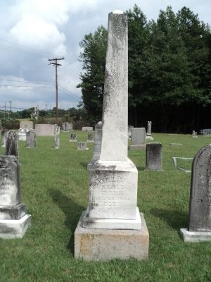 Grave of Braxton Craven Photo, Click for full size