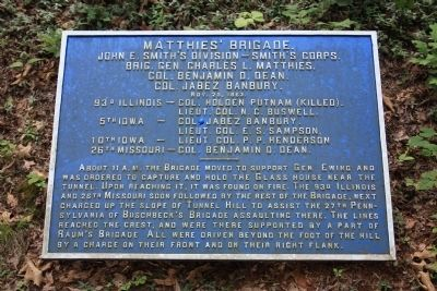 Matthies' Brigade Marker image. Click for full size.