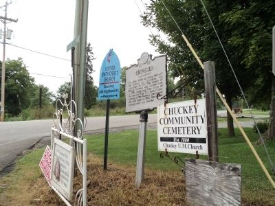 Ebenezer Marker Photo, Click for full size