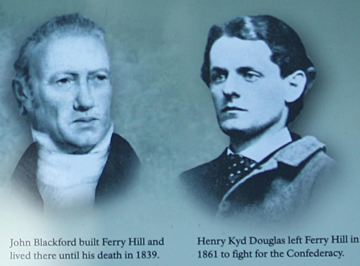 John Blackford and Henry Kyd Douglas