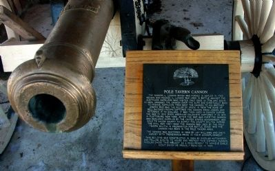 Pole Tavern Cannon Marker image. Click for full size.