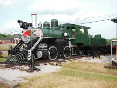 Engine #1, Porter Steam Locomotive #6557, built in 1920 image. Click for full size.