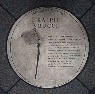 Ralph Rucci Marker image. Click for full size.
