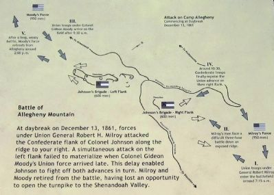 Battle of Allegheny Mountain image. Click for full size.