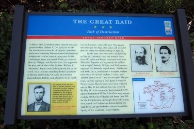 The Great Raid CWT Marker Photo, Click for full size