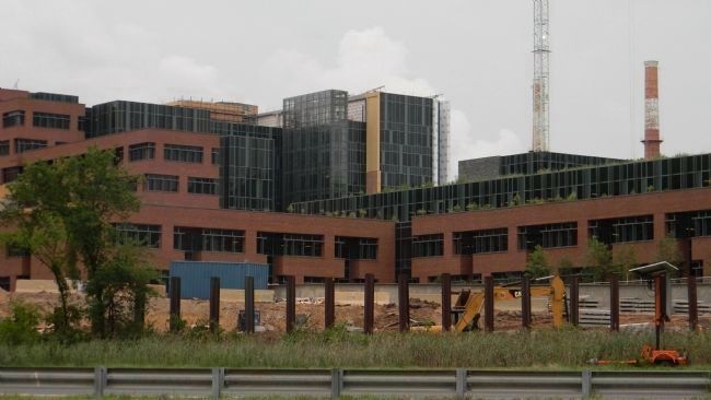 St. Elizabeths Hospital: site of the new Dept. of Homeland Security [DHS] headquarters image. Click for full size.