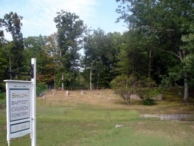 Shiloh Baptist Church Cemetery image. Click for full size.
