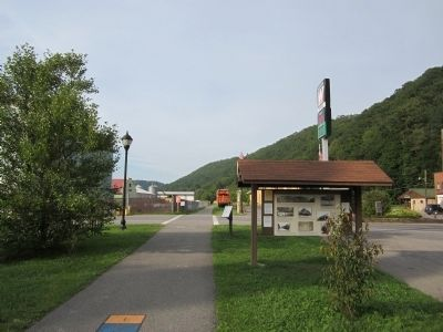 Greenbrier River Trail in Marlinton image. Click for full size.