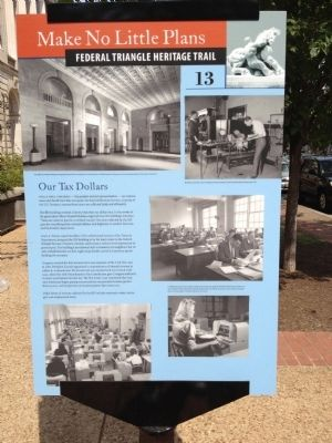 Our Tax Dollars Marker image. Click for full size.
