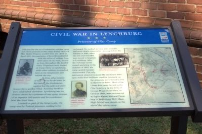 Civil War in Lynchburg Marker Photo, Click for full size