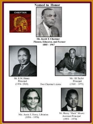 Chestnut Consolidated School - Leaders image. Click for full size.