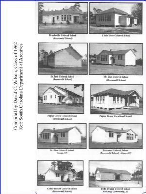 Pictures of the feeder schools before Chestnut was established in 1954 image. Click for full size.