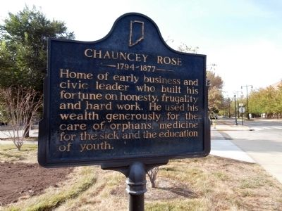 Chauncey Rose - - 1794 - 1877 Marker image. Click for full size.