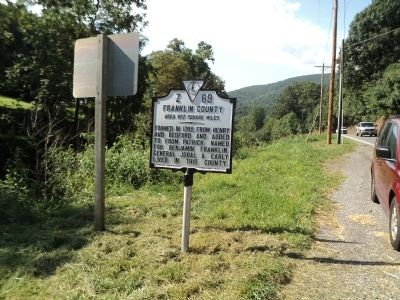 Franklin County Marker image. Click for full size.