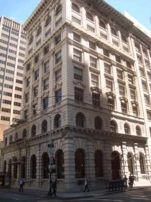 Bank of San Francisco Building, formerly the Bank of Italy Photo, Click for full size