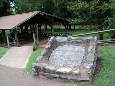 Davy Crockett�s Birthplace Marker Photo, Click for full size