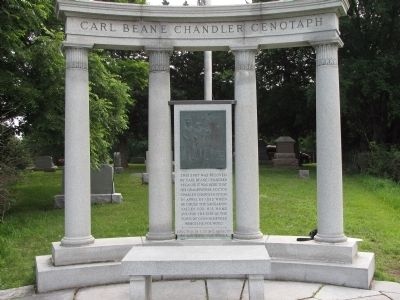 Carl Beane Chandler Cenotaph Photo, Click for full size