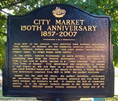 City Market Marker Photo, Click for full size