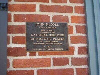 John Nicholl Marker Photo, Click for full size