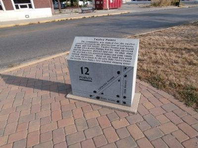 Wide View - - Twelve Points Marker image. Click for full size.