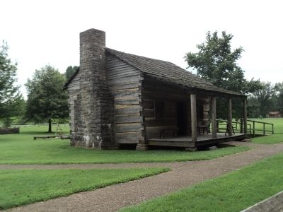 Davy Crockett Birth Cabin image. Click for full size.