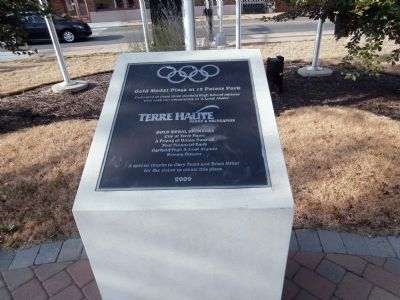 Gold Medal Plaza Marker image. Click for full size.