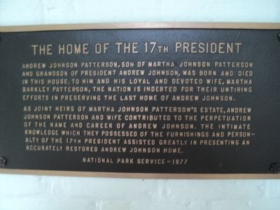 The Home of the 17th President Marker Photo, Click for full size