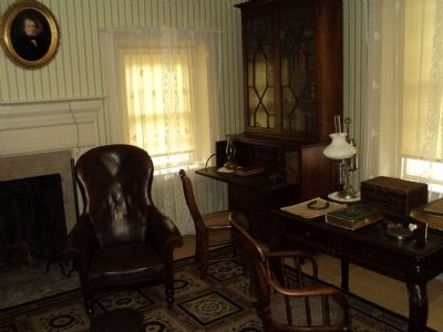 Andrew Johnson's Bedroom image. Click for full size.