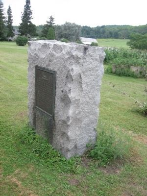 Home Where Lt Colonel Baum Died Marker Photo, Click for full size