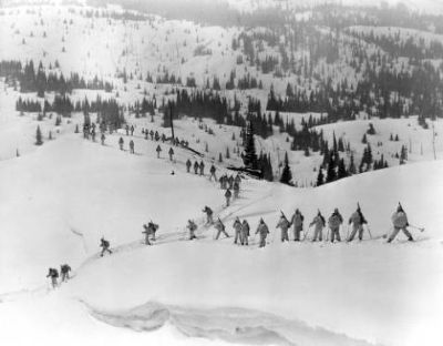 Source picture used on the 10th Mountain Division Marker image. Click for full size.