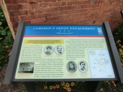 Cameron's Depot Engagement Marker image. Click for full size.