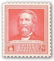 Dr. Crawford W. Long Stamp Photo, Click for full size