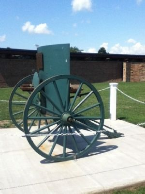 West Seneca Gatling Gun Photo, Click for full size