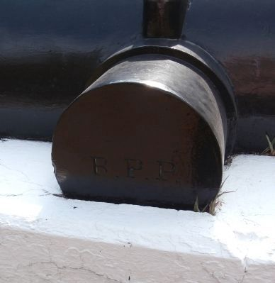 "Right Trunnion - - Text ""R.P.P.""<br> (Robert Parker Parrott) Photo, Click for full size"